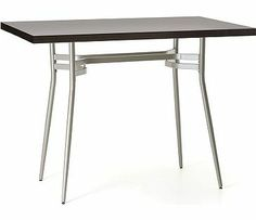 Amisco Anais Rectangular Bar Height Table love this table for the brewing area