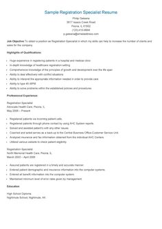 sample quality assurance specialist resume resame