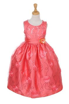 Browse our Collecion of Girls Pageant Dresses *** Click Now For Sales**** Girls Formal Occasion & Party Wear Coral Flower Girl Dresses, Sales Girl, Girls Pageant Dresses, Party Wear, Toddler Girl, Special Occasion, Formal, How To Wear, Collection