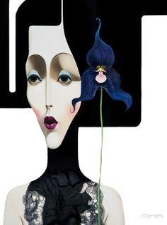 tube png trouvé sur le net - (fotki mika) -  femme slava fokk art