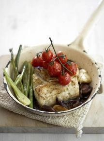 http://www.nomu.co.za/recipes/oven-roasted-fish-with-tomatoes-a-olives