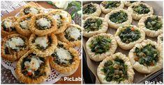 Hem sunumu hem de lezzetiyle beğeni alacak enfes bir börek tarifi yapmaya ne dersiniz? İşte tüm detaylarıyla ıspanaklı kuş yuvası böreği tarifi. Kuş Yuvası Böreği Malzemeleri   3 a Vegan Main Dishes, Brunch Party, Food Blogs, Ham, Sushi, Vegan Recipes, Muffin, Food And Drink, Fruit