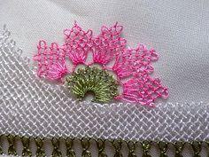 İğne Oyası havlu kenası-iğne oyası büyük havlu kenası modeli
