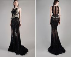 GEMY MAALOUF - Fall/Winter 14-15  black wedding?!?
