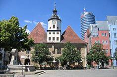 Jena Rathaus - erstmals 1368 erwähnt - Thüringen
