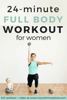 The Best Strength + HIIT Home Workout for Women | Nourish Move Love