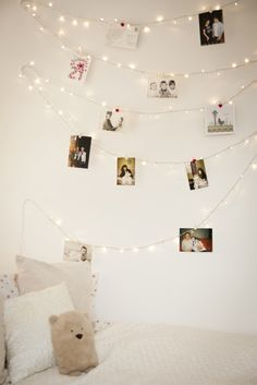 University Bedroom Ideas: How to Decorate your Dorm Room with Fairy Lights - 4 Home