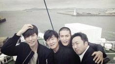 Bad Guys or Cute guys? <3 #parkhaejin #jodonghyuk #madongsuk #kimsangjoong