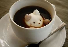 Enjoy latte art at home with cute marshmallow cats ‹ Japan Today: Japan News and Discussion