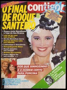 """E mais sobre """"Roque Santeiro"""". Essa novela deu o que falar na época e a Contigo! como sempre estava ligada. Na edição 542 revelamos  por que sinhozinho é o homem certo para porcina. Ficaram curiosos?!"""