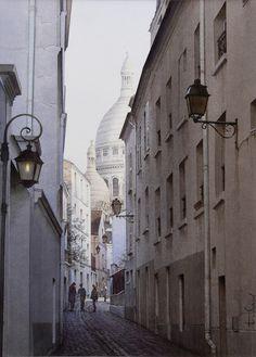 La magie de Montmartre - 2012-04-09 15:11:57  Format : 27 cm x 37 cm