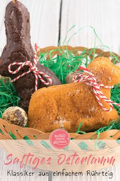 Easter Lamb, Gateaux Cake, Gingerbread Cookies, Low Carb, Sweets, Cheese, Chicken, Baking, Desserts