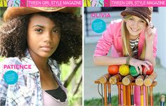 Feb. & Mar. Model of the Month  www.tweengirlstylemagazine.com