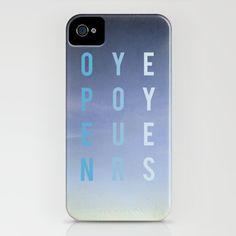 Open Your Eyes II iPhone Case