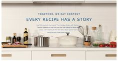 Every recipe has a story – and #IKEA wants to hear yours! Enter our #TogetherWeEat #Contest for a chance to #win! Visit https://TogetherWeEat.com/contest for complete details & rules.