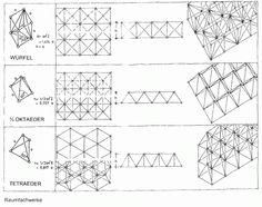 RAUMFACHWERK Konrad Wachsmann, System Architecture Diagram, Facade Architecture, Space Truss, Truss Structure, Steel Structure, Urban Design Concept, Airport Design, Space Frame, Geometry Pattern