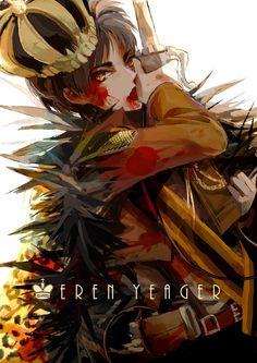 Eren | Black King - Chess (Attack on Titan)