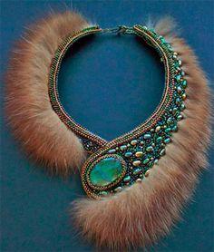 Bead Embroidery Jewelry, Fabric Jewelry, Beaded Embroidery, Beaded Jewelry, Handmade Jewelry, Beaded Necklace, Unique Jewelry, Necklaces, Jewellery