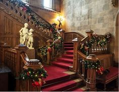 Christmas Decorations at Highclere Castle