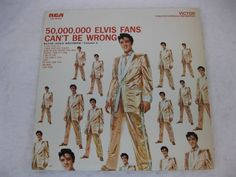 Elvis Presley 50,000,000 ELVIS FANS CAN'T BE WRONG RCA LSP-2075(e) Re-issue NM  $14.95