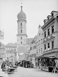 Franziskanerplatz Graz Austria, Vintage Travel, Vienna, Notre Dame, Street View, Europe, History, Building, Austria