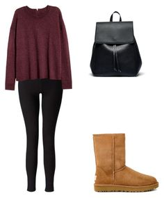 Fall by familycapito on Polyvore featuring polyvore, moda, style, Miss Selfridge, UGG, Sole Society, fashion and clothing