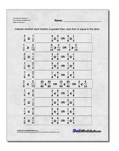 Free printable math worksheets for Pre-Algebra problems