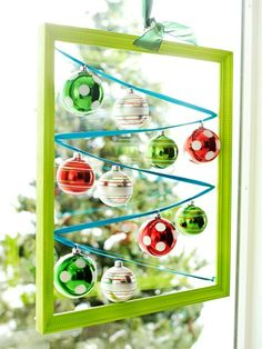 DIY Christmas Ball Ornaments