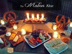 Set up a beautiful Mabon Altar without the fuss.  TheMagickKitchen.com