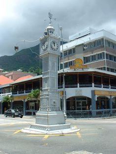 Clock Tower (Little Ben), Victoria, National Monument, Seychelles