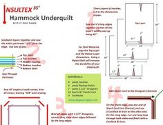 Three Layer Underquilt with Insultex as the insulation.