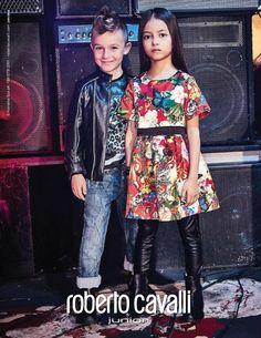 Sofia for ROBERTO CAVALLI fw2016 #campaign #robertocavallijunior #btalent #fw16