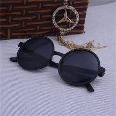 Hot Vintage Round Lens Sunglasses women Classic Gafas Oculos Retro Coating Sun Glasses Round Oculos De Sol feminino
