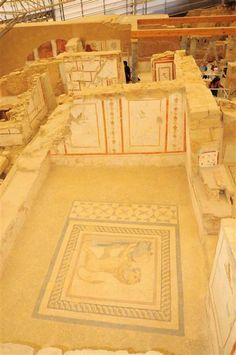 The Terrace Houses in the ancient city of Ephesus. #archeology