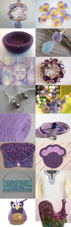 Purple Shades In Our World  by M Brent Payne on Etsy--Pinned with TreasuryPin.com