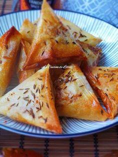 Samoussas à la viande et aux épices Tandoori