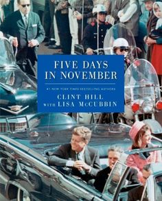 Five Days in November by Clint Hill, http://www.amazon.com/dp/1476731497/ref=cm_sw_r_pi_dp_nVlKsb0WS4PY7/183-9269748-1854940