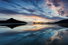 Tairua Dawn Reflections, New Zealand Wonderful Picture, Rest Of The World, Plan Your Trip, Natural World, What Is Like, See Photo, Mother Nature, New Zealand, Landscape Photography