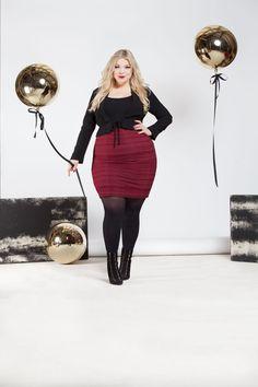 Plus size Model  caterina pogorzelski   Plus size Fashion  curvy woman Blog: www.megabambi.de  Evelin Brandt