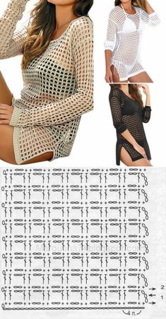 Fabulous Crochet a Little Black Crochet Dress Ideas. Fabulously Georgeous Crochet a Little Black Crochet Dress Ideas. Blouse Au Crochet, Débardeurs Au Crochet, Pull Crochet, Gilet Crochet, Mode Crochet, Black Crochet Dress, Crochet Woman, Crochet Cardigan, Patron Crochet