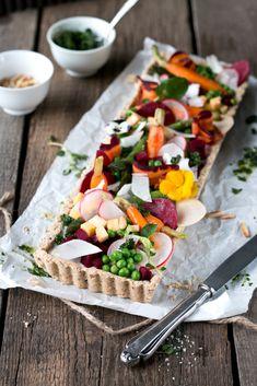 Buckwheat cake with spring vegetables | Foodlovin'