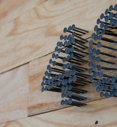 One box of nails + one hammer = CLEVER!