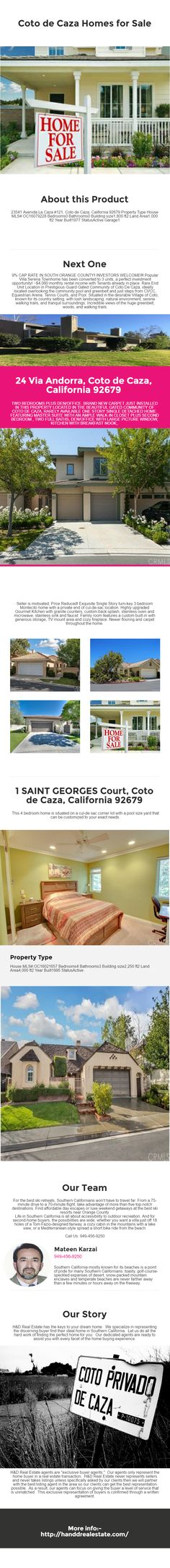 9% CAP RATE IN SOUTH ORANGE COUNTY! INVESTORS WELCOME!!! Popular Villa Serena Townhome has been converted to 3 units, a perfect investment opportunity! ~$4,060 monthly rental income with Tenants already in place. Rare End Unit Location in Prestigious Guard Gated Community of Coto De Caza,  #California_Luxury_Homes_for_Sale #Coto_de_Caza_Homes_for_Sale #Dana_Point_Homes_foe_sale  http://www.handdrealestate.com/coto-de-caza-homes-for-sale-listings.php