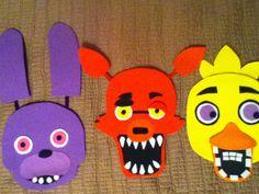 Five nights at Freddys Bonnie foam mask by OtakusParadise on Etsy