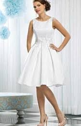 2015fashion short bridal gowns white satin scoop sleeveless appliques beaded draped knee-length a-line wedding dresses#p031418