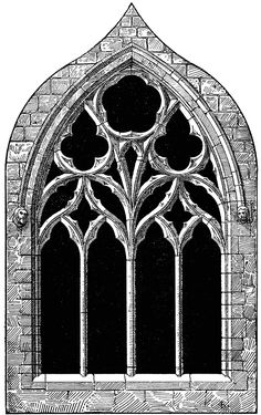 Gothic Architecture St  Margaret S Chapel Tracery   Clipart Etc - Clipart Kid