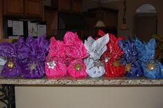 Cowgirl Birthday Party Favors #cowgirl #partyfavors