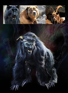 How to paint Monsters (Examples) posted by andrikossavvas. The Beasts of Dr Frankenstein (Combining animals). The Black Ozark Howler Beast is a legendary creature that is purported to live in remote areas in Arkansas, Missouri, Oklahoma, and Texas. Weird Creatures, Mythical Creatures, Myths & Monsters, Dragons, Legends And Myths, Legendary Creature, Fantasy Monster, Urban Legends, Mythological Creatures