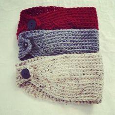 Crocheted headband - love it!