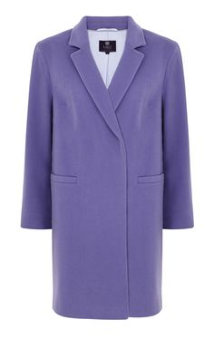 Collection Coat, £120, Marks & Spencer Backstage, Fall Winter, Blazer, Yellow, Purple, Coat, Jackets, Collection, Fashion